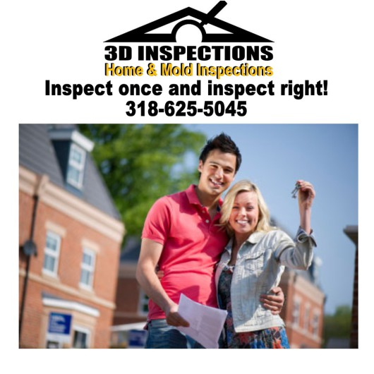 3D Inspections, Home &  Mold Inspections of Central Louisiana